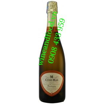 Rượu vang nổ M Côté Mas Brut Chardonnay 750ml