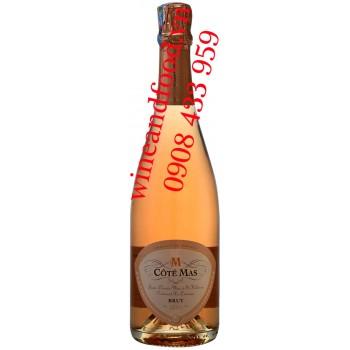 Rượu vang nổ M Côté Mas Brut hồng 750ml