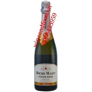 Rượu vang nổ Roche Mazet Syrah Rose Brut