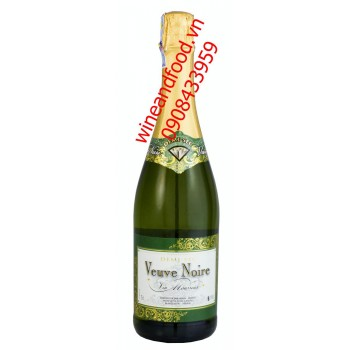Rượu vang nổ Veuve Noire Demi Sec 750ml