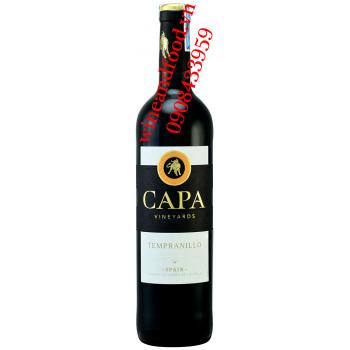 Rượu vang Capa Vineyards Tempranillo 750ml