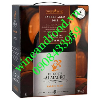 Rượu vang Diego De Almagro bịch (hộp) 3l