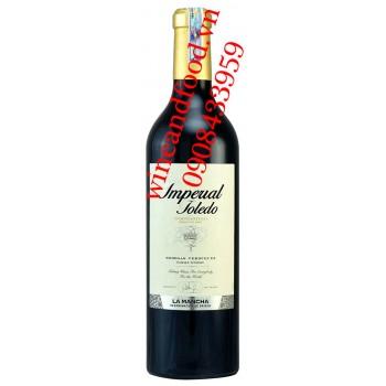 Rượu vang Imperial Toledo Tempranillo La Mancha