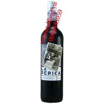 Rượu vang La Pepica Monastrell 750ml