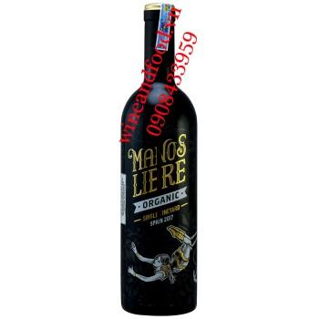 Rượu vang Manos Libre Single Vineyard Organic 750ml