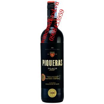 Rượu vang Piqueras Black Label Syrah & Monastrell 750ml