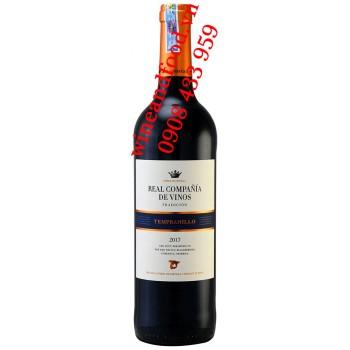 Rượu vang Real Compania de Vinos Tempranillo 750ml
