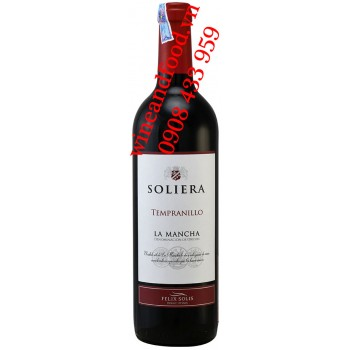 Rượu Vang Soliera La Mancha Tempranillo 750ml