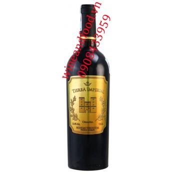 Rượu vang Tierra Imperial Crianza 750ml