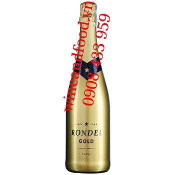 Rượu vang nổ Rondel Gold Cava 750ml