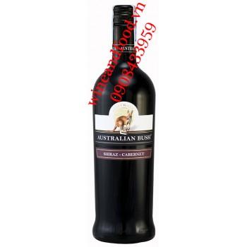 Rượu vang Australian Bush Shiraz Cabernet 750ml