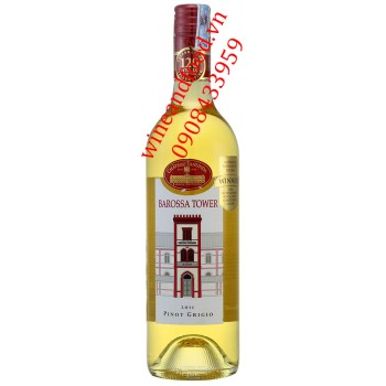 Rượu vang Barossa Tower trắng Pinot Grigio