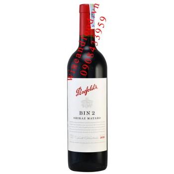 Rượu vang Bin 2 Shiraz Mataro Penfolds 750ml