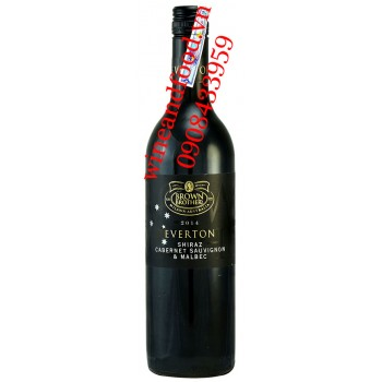 Rượu vang Everton Brown Brothers Shiraz Cabernet Sauvignon Malbec