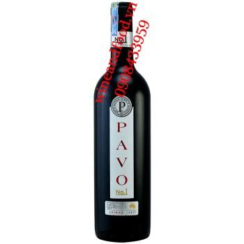 Rượu vang Pavo Shiraz No1 750ml