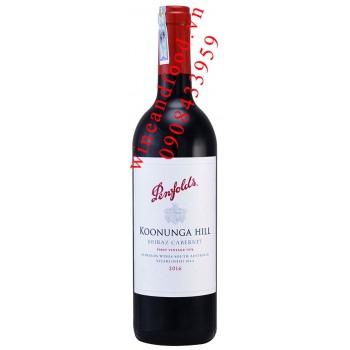 Rượu vang Penfolds Koonunga Hill Shiraz Cabernet 750ml