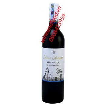 Rượu vang River Retreat Merlot 750ml