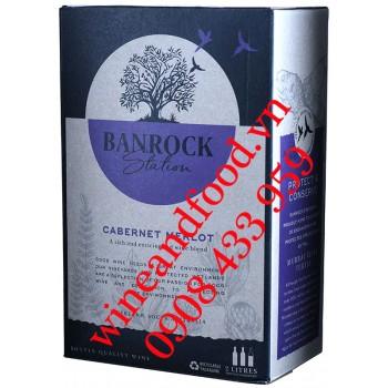 Rượu vang Banrock Station Cabernet Merlot bịch 2 Lít