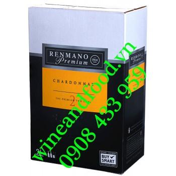 Rượu vang trắng Renmano Premium bình 2l