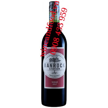 Rượu vang Banrock Station Shiraz 750ml