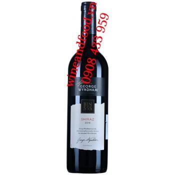 Rượu vang Bin 555 Shiraz George Wyndham