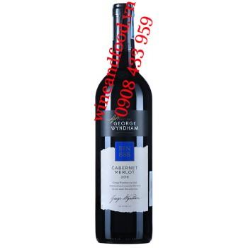 Rượu vang Bin 888 Cabernet Merlot George Wyndham 750ml