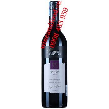 Rượu vang Bin 999 Merlot George Wyndham 750ml