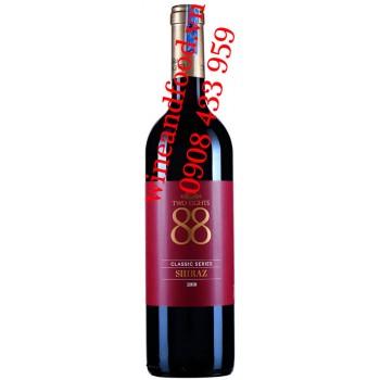 Rượu vang Two Eights 88 Shiraz Classic Series 750ml