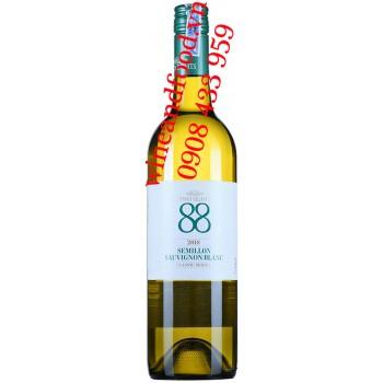 Rượu vang Two Eight 88 Semillon Sauvignon Blanc Classic Series