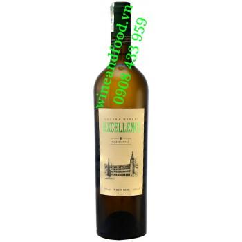 Rượu vang Đà Lạt trắng Excellence Chardonnay 750ml