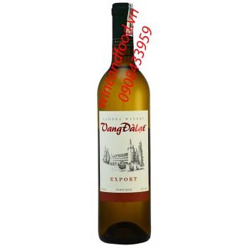 Rượu vang Đà Lạt trắng Export 750ml
