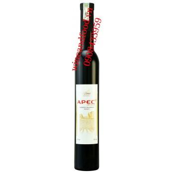 Rượu vang Dalat Apec Cabernet Sauvignon Merlot 375ml