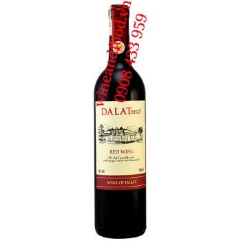 Rượu vang Đà Lạt Dalat Beco 750ml