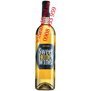 Rượu vang Mật Ong Sweet Honey Wine Ladofoods 750ml