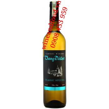 Rượu vang trắng Đà Lạt Classic Special 750ml