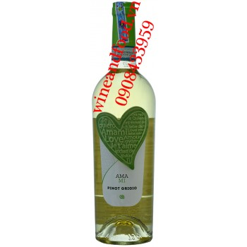 Rượu vang Amami Pinot Grigio trắng 750ml