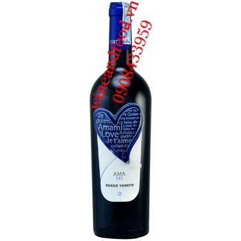 Rượu vang Amami Rosso Veneto IGT 750ml