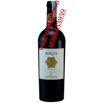 Rượu vang Aros Toscana Cortemedicea Bollina 750ml