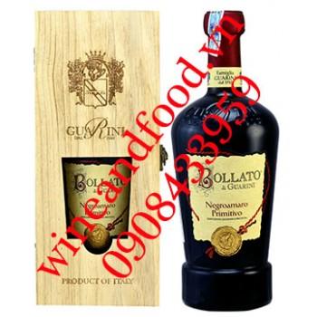 Rượu vang Bollato di Guarini Negroamaro Primitivo 750ml