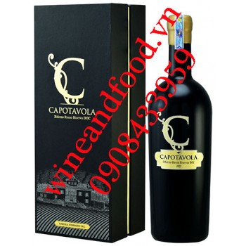 Rượu vang C Capotavola Bifernoi Riserva DOC 750ml