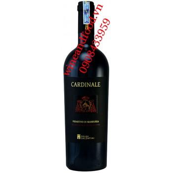 Rượu vang Cardinale Primitivo di Manduria 750ml