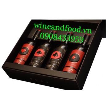 Rượu vang Cơ Rô Chuồng Bích Quattrocento IGP
