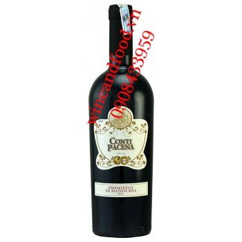 Rượu vang Conti Pacena Primitivo di Manduria