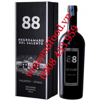 Rượu vang 88 Negroamaro del Salento IGT Limited Edition hộp quà