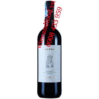 Rượu vang Alteo Chianti Riserva DOC 750ml