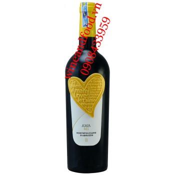 Rượu vang Amami Montepulciano D'abruzzo 750ml