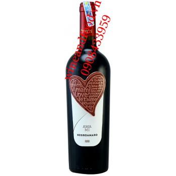 Rượu vang Amami Negroamaro 750ml