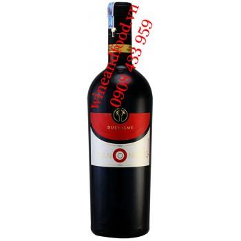 Rượu vang Canonico Due Palme Negroamaro IGP 750ml