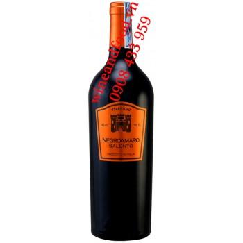 Rượu vang Negroamaro Salento Torri D'Oro IGT 750ml
