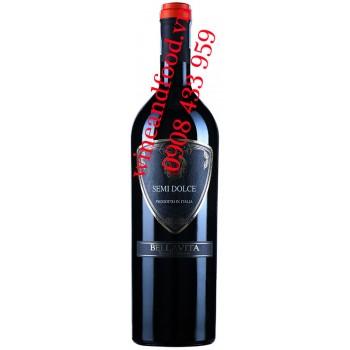 Rượu vang ngọt Semi Dolce Bellavita 750ml